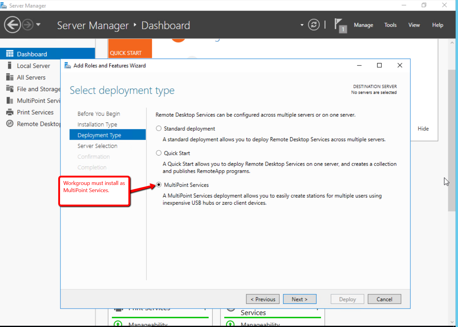 Windows Server 2016 RDS Role Installation - ThinManager
